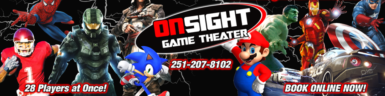 On Sight Entertainment – Alabama Mobile Video Game Truck Party – Mobile, Daphne, Foley & Gulf Coast