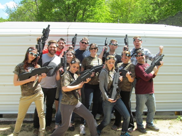 Laser Tag parties in Mobile, Alabama by On Sight Entertainment